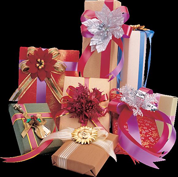 Tubes Paquets Cadeaux